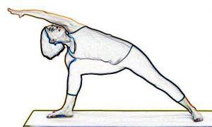 Extended Side Angle Pose II - Utthita Parsvakonasana II