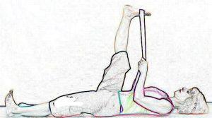 Reclined Big Toe Pose - Supta Padangusthasana