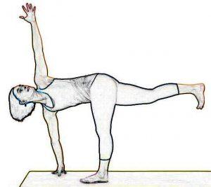Revolved Side Angle Pose – Parivrtta Parsvakonasana
