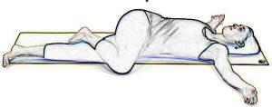 Supine Spinal Twist - Supta Matsyendrasana