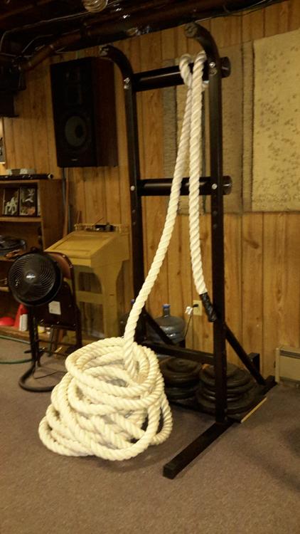 Vertical Rope Pull Machine