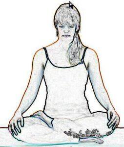 Half Lotus Pose - Ardha Padmasana