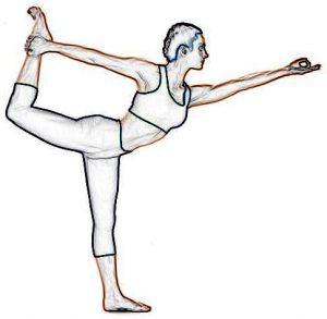 King Dancer Pose – Natarajasana